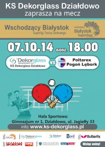 Plakat 2014 Dekorglass - Lębork